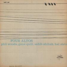 "PHIL WOODS/GENE QUIL/SAHIB SHIBAB/HAL STEIN – Four Altos (RARE 1958 JAZZ EP 7"")"