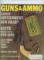 Guns & Ammo June 1967 Latest Government Gun Grab
