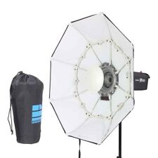 """100cm / 40"""" WHITE Portable Collapsible Beauty Dish Octagon Softbox Bowens Mount"""