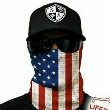 Sa Co Salt Armour /Usa American Flag-Face Shield/ MasK