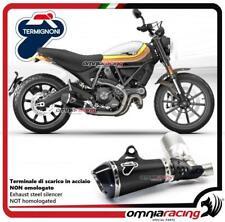 Termignoni Auspuff schwarz racing genehmigt Ducati Scrambler 800 15>