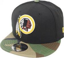 New Era Washington Redskins Casquette Snapback Noir Camo 9fifty 950 Osfa