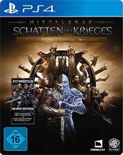 Mittelerde: Schatten des Krieges - Gold Edition (Sony PlayStation 4, 2017)