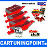 EBC Forros de freno traseros Redstuff para RENAULT VEL SATIS BJ0 DP31354C