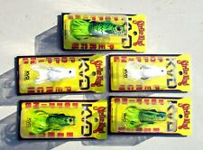 5 Strike King KVD POPPING PERCH Assortment Bass Fishing Lures Weedless Topwater