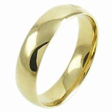 Yellow Gold Fine Bands without Stones