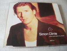 SIMON CLIMIE - DOES YOUR HEART STILL BREAK - 1992 UK CD SINGLE
