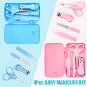 4X Baby Nail Care Set Cutter Scissors Clipper Scissor Beauty Manicure Pedicure-
