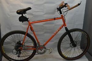 Tall Jeremy Signature Soma Wolverine Orange Sweet bike for long femur leg adult!