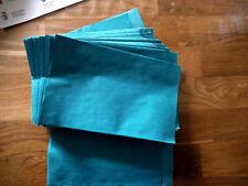 Papiertüten, Flachtüten, grün, 12 x 19 cm, 50 Stück