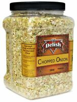 Dried Natural Chopped Onion by It's Delish – Distinctive, Delicious, Fresh...