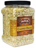 Dried Chopped Onion by It's Delish – Distinctive, Delicious, Fresh Taste –...