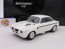 """Minichamps 155120021 # Alfa Romeo GTA 1300 junior año de construcción 1971"""" blanco """"1:18 nuevo"""