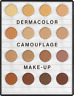 DemaColor Camouflage System Mini Palette 16 Shades per palette