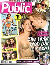 French mag 2012: KRISTEN STEWART_ROBERT PATTINSON_KATIE HOLMES_LADY GAGA