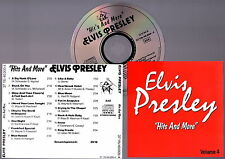 ELVIS PRESLEY -  Hits And More Volume 4 CD Very RARE Import