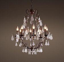 Restoration hardware wooden chandeliers ceiling fixtures ebay restoration hardware crystal chandeliers ceiling fixtures mozeypictures Images