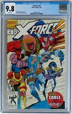 X-Force #8 (Marvel 1992) CGC 9.8 NM/MT 1st app. real Domino (Cameo) 1st Six Pack