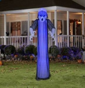 Gemmy  Airblown  Prelit Short Circuit Ghost  Inflatable