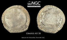 ENGLAND. Charles I. 1625-1649, Silver Halfcrown, S-2778, NGC AU50