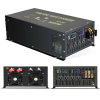 8000W Pure Sine Wave Power Inverter 12V to 120V Car Converter Solar Motorhome