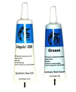 Fishing Reel Oil Gear Grease Maintenance Bait Casting(1)