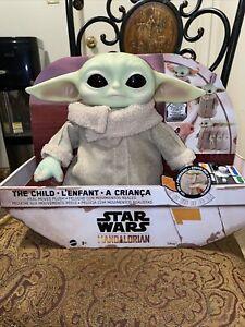 Disney's The Child Real Moves Plush Baby Yoda Mattel Star Wars: The Mandalorian