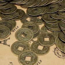 100X Feng Shui Chinese Oriental Emperor Ancient Lucky Fortune Wealth Money Coin
