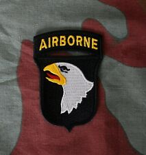 Fregio US 101st Airborne Division Screaming Eagles, WW2 Army patch sleeve badge