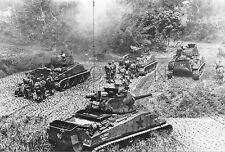 1940s (6 x 4) Repro US RP- Panzer- Amphibious Medium Tank M4 Sherman- Okinawa