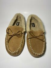 Mens Clarks Slippers Size 10M Moccasins Hard Sole Marcus
