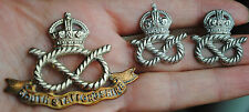 S.Stafford collars and cap badge