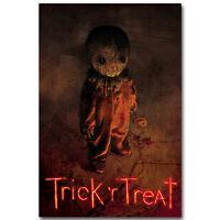 Trick R Treat Horror Movie Art Silk Poster Print 12x18 24x36 inch