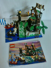 Lego 6273 Rock Island Refuge Pirateninsel 100% komplett m OBA Anleitung Piraten