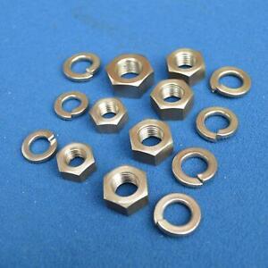 Lightweight Webb Girder Fork Spindle Nut Set