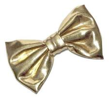 "Gold 3"" metallic fabric bow tie / DIY headbands & hair bows"
