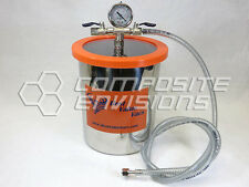 Vacuum Chamber / Degassing Pot - Stainless Steel 1.5 Gallon