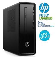HP Desktop Computer Windows 10 8GB  1TB Bluetooth DVD+RW HDMI (FULLY LOADED)