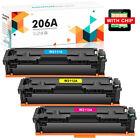 Toner Compatible for HP 206A W2110A LaserJet Pro M255dw MFP M283fdw With Chip
