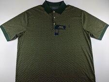 NEW Polo Ralph Lauren Classic Men 3XB 3XL Big Green Geometric Polo Shirt  Pony