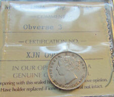 Newfoundland 1894 10 Cents Choice Queen Victoria  Obv 3 Scarce ICCS EF 45