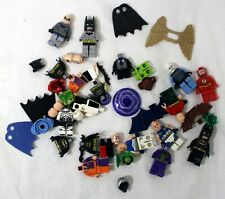 Lego Assorted DC Super Heroes Minifigure Parts Lot Catwoman Batman Flash Joker