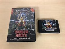Ghouls 'n Ghosts Sega Genesis Game & Case Original