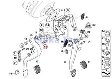 BMW Genuine Clutch Master Cylinder Pin - Master Cylinder To Clutch Pedal E46 E82