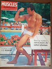 Revues mensuelles Muscle magazine 1966