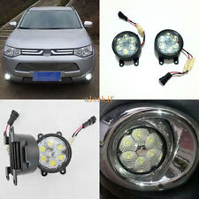18W 6LED  6500K LED Fog Lamp DRL for Mitsubishi Outlander L200 Triton Lancer ASX