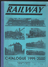 RAILWAY-Catalogue 1999 / 2000-Modelisme- Maquettes- Trains- Voitures ....