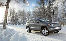 """2012 JEEP GRAND CHEROKEE A3 CANVAS PRINT POSTER FRAMED 16.5""""x11.1"""""""