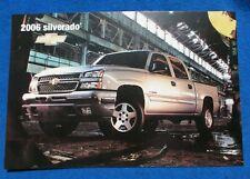 2006 Chevy Silverado C/K Dealer Showroom Photo Original GM Heavy Paper NOS NEW