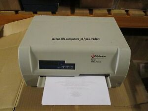 Tally Genicom 5040 Serial PASSBOOK Printer T5040 PARALLEL + SERIAL + USB MATRIX